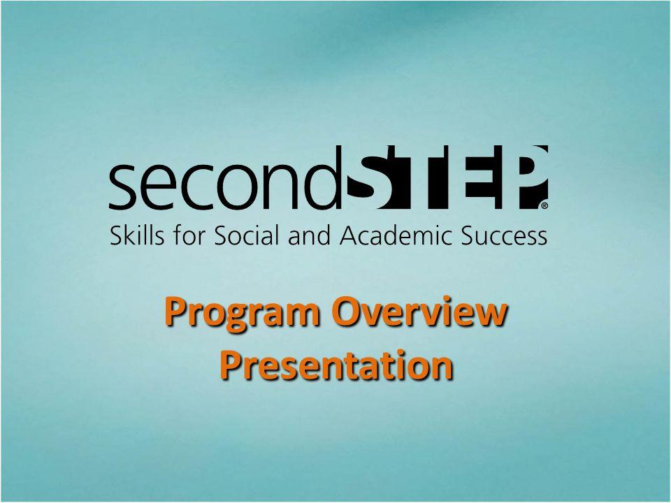 Program Overview Presentation
