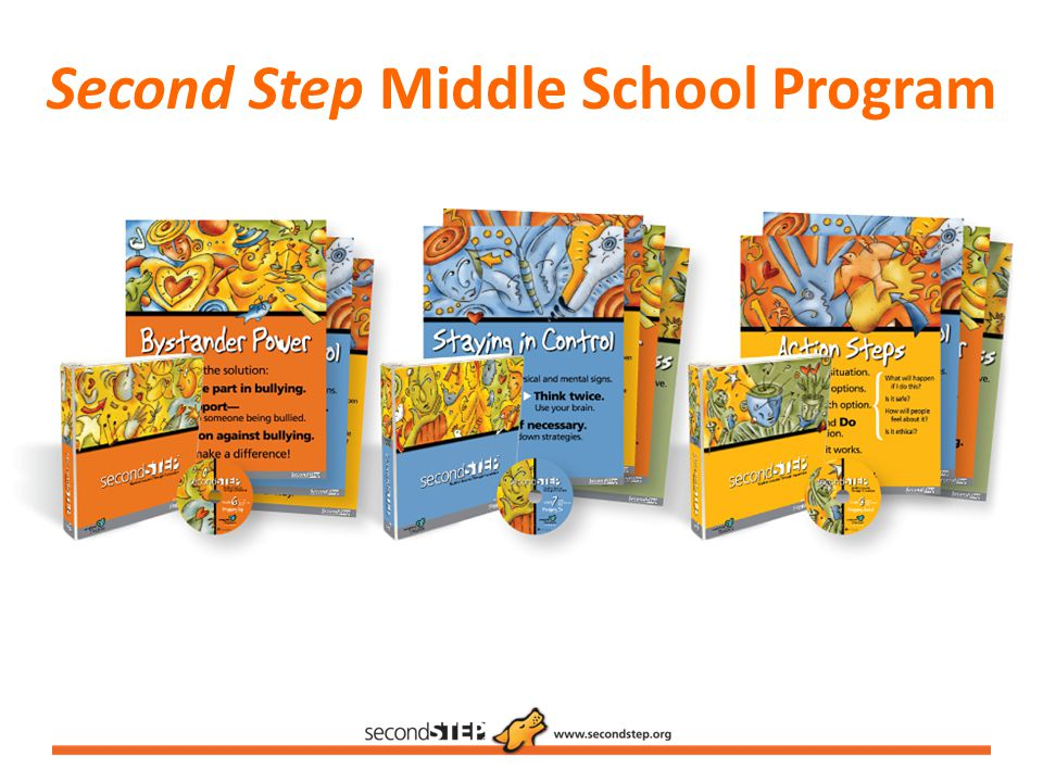 Second Step Middle School Program