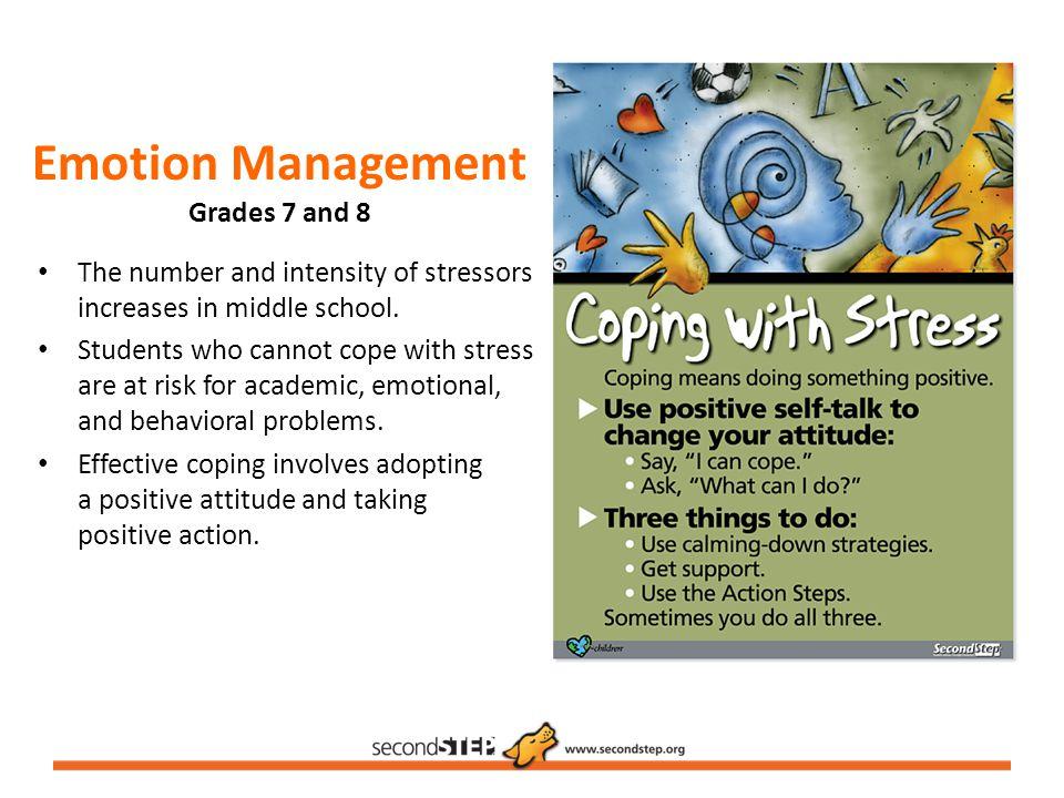 Emotion Management Grades 7 and 8