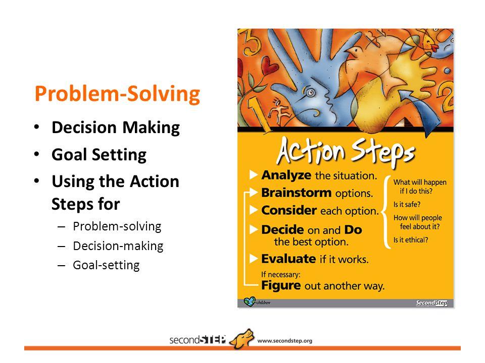 Problem-Solving Decision Making Goal Setting