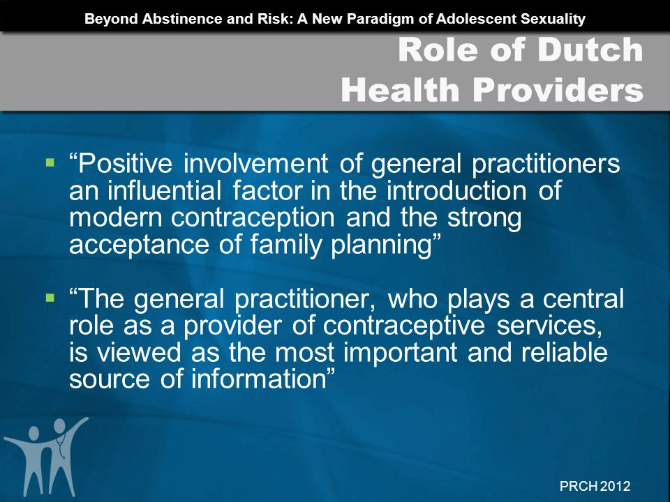 Role of Dutch Health Providers