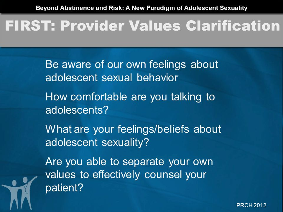 FIRST: Provider Values Clarification