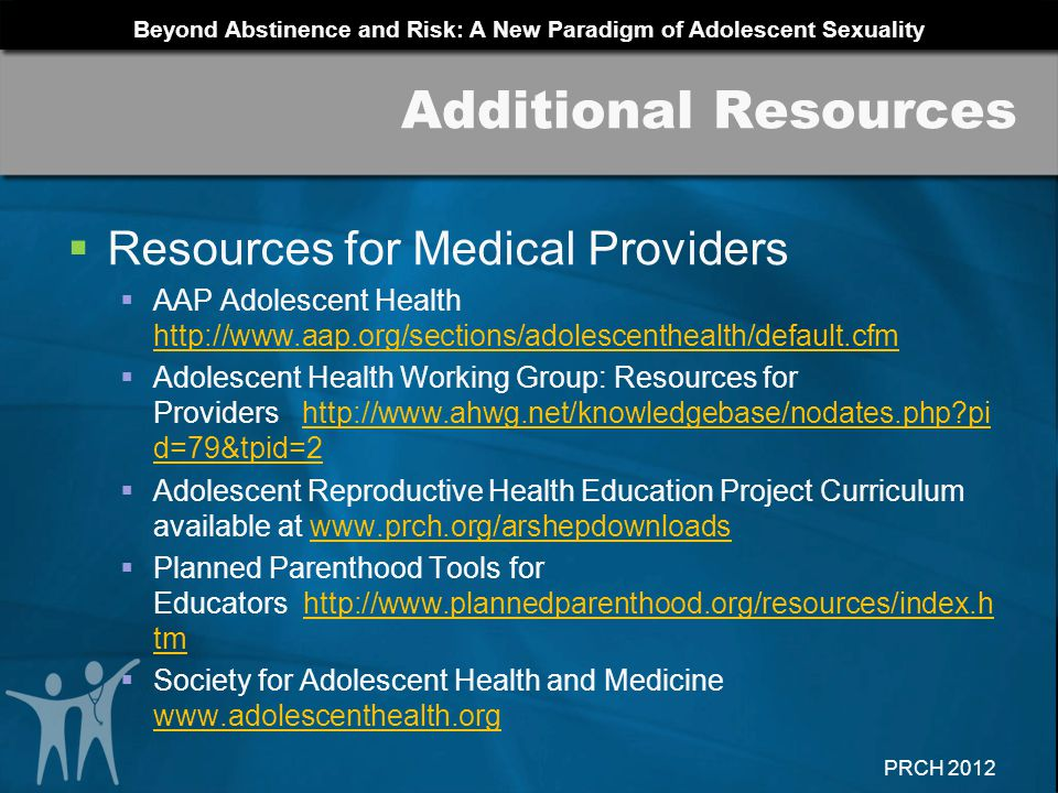 Additional Resources Resources for Medical Providers
