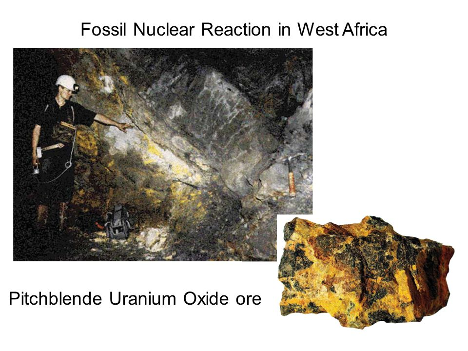 Fossil Nuclear Reaction in West Africa
