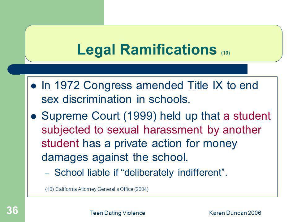 Legal Ramifications (10)