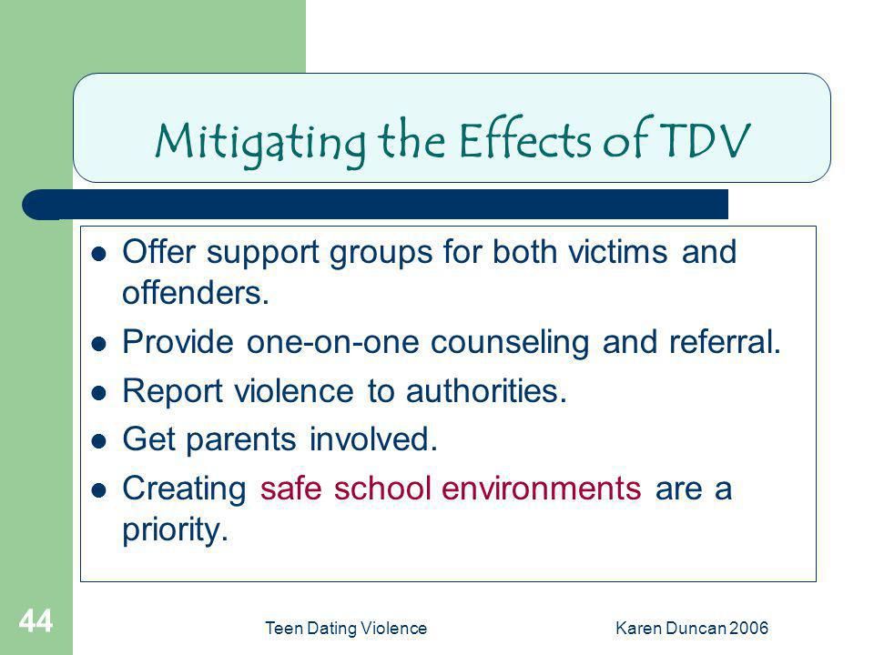 Mitigating the Effects of TDV