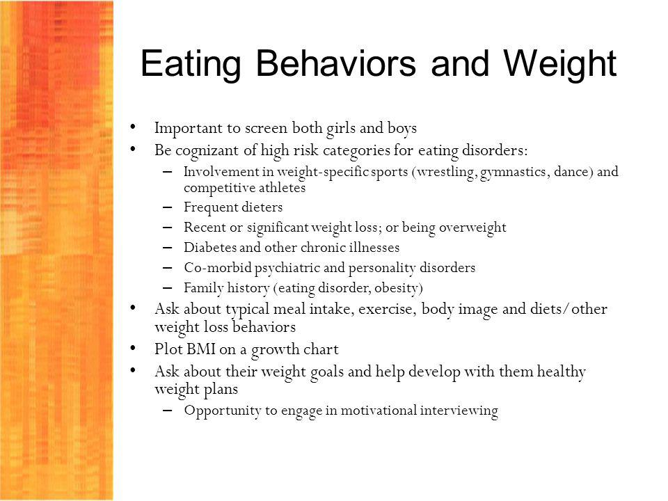 Eating Behaviors and Weight