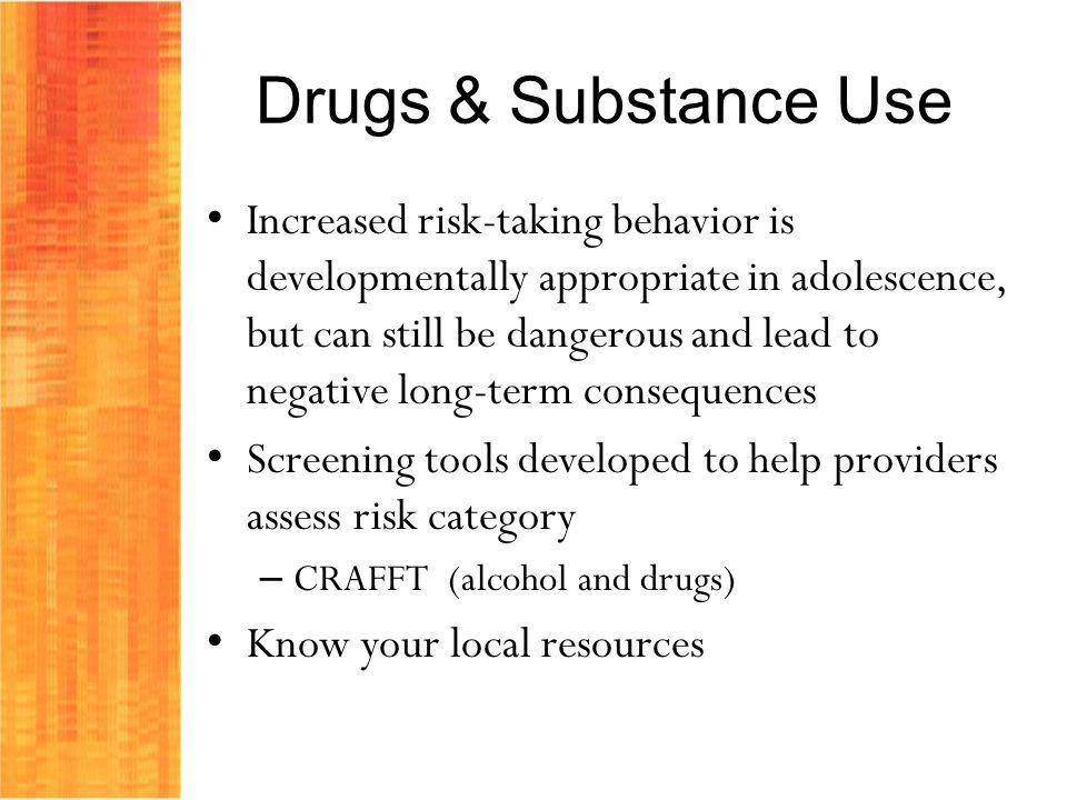 Drugs & Substance Use