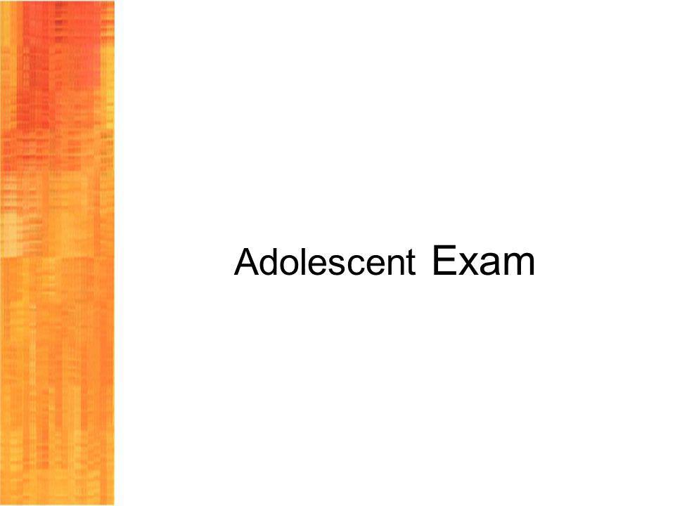 Adolescent Exam