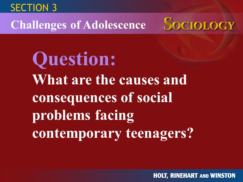 Adolescents: health risks and solutions