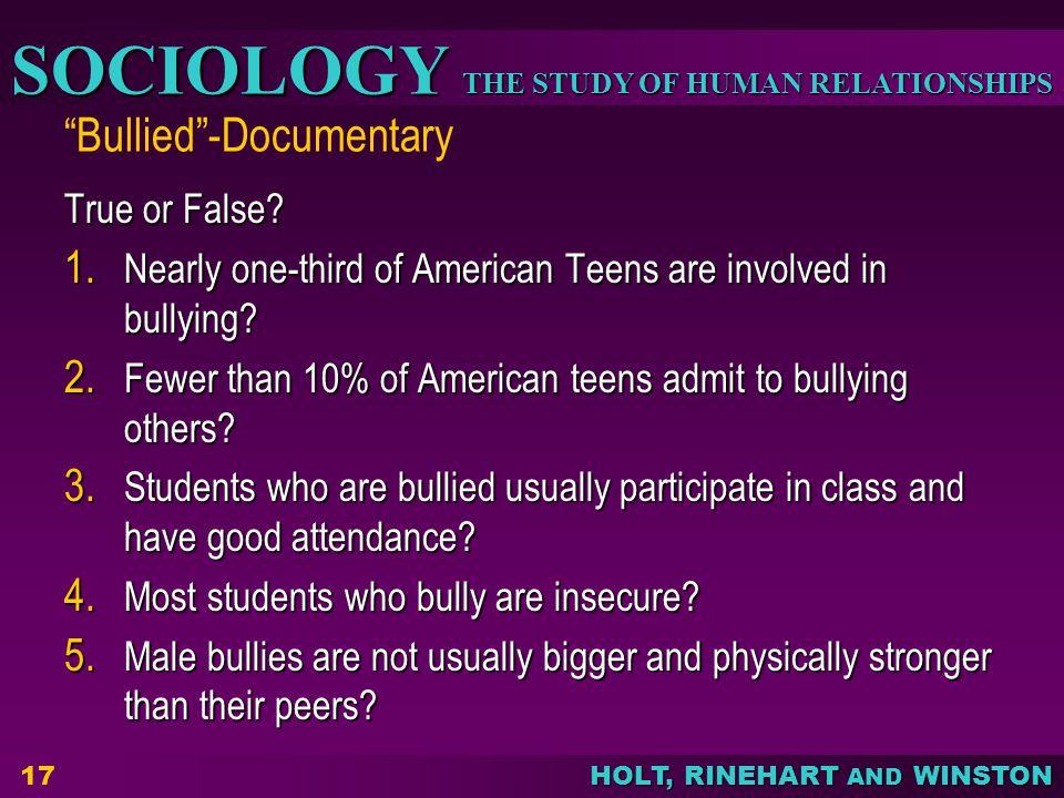 Bullied -Documentary