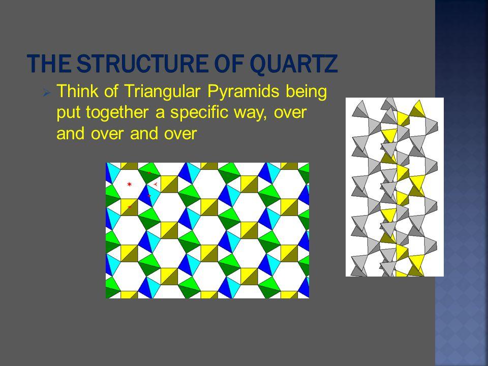 The structure of quartz