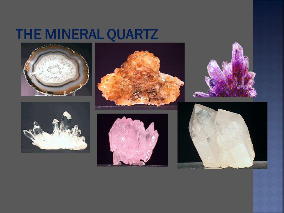 The mineral Quartz