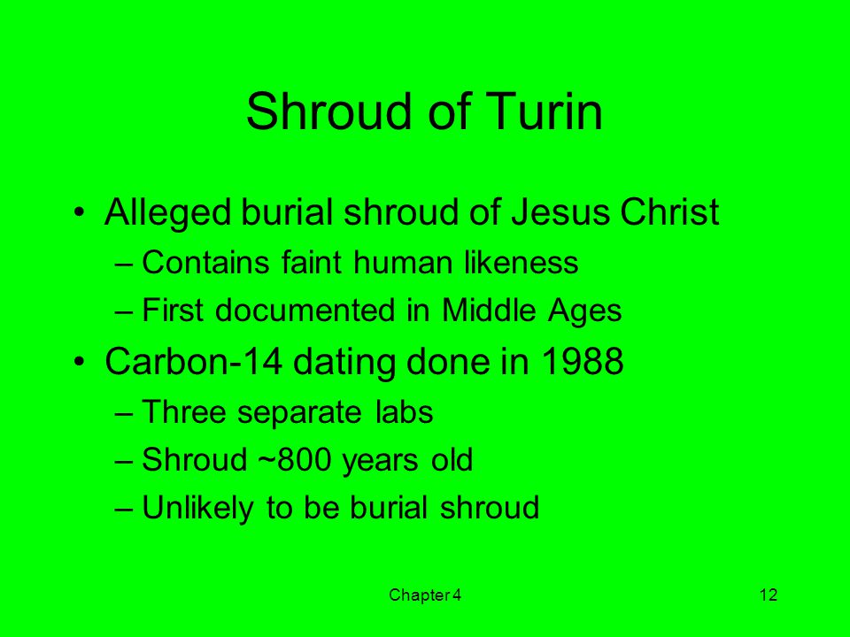 Shroud of Turin Alleged burial shroud of Jesus Christ