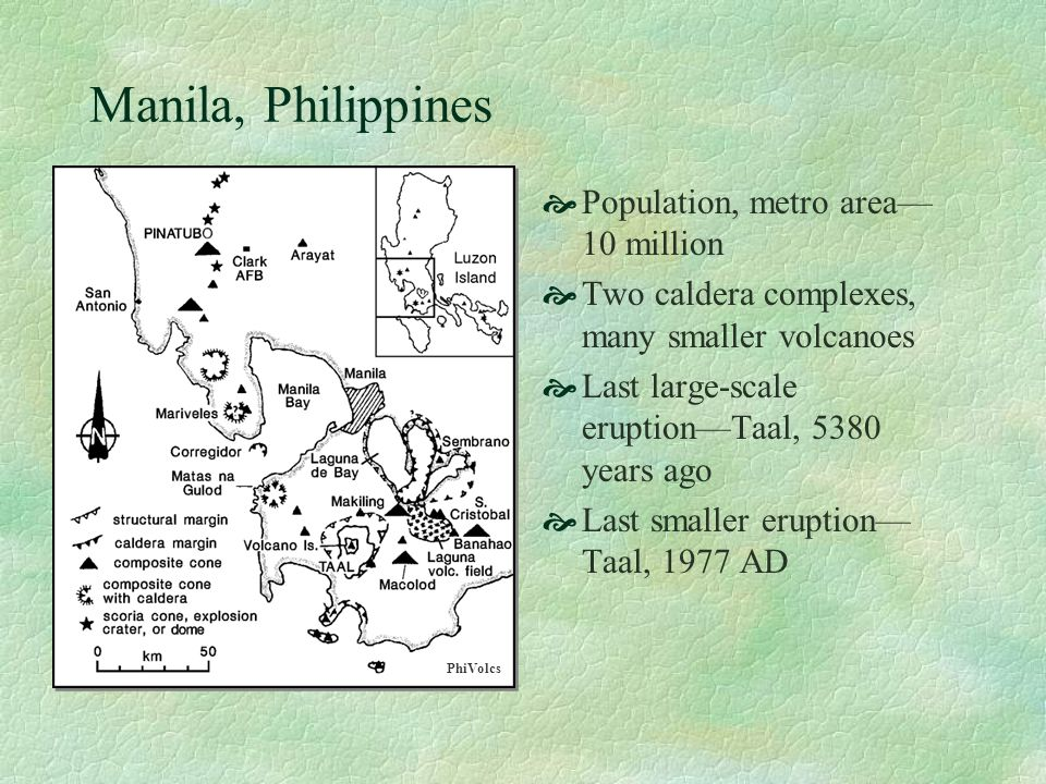 Manila, Philippines Population, metro area—10 million