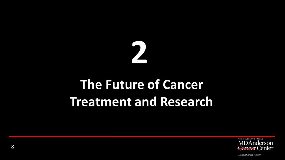 The Future of Cancer Treatment and Research