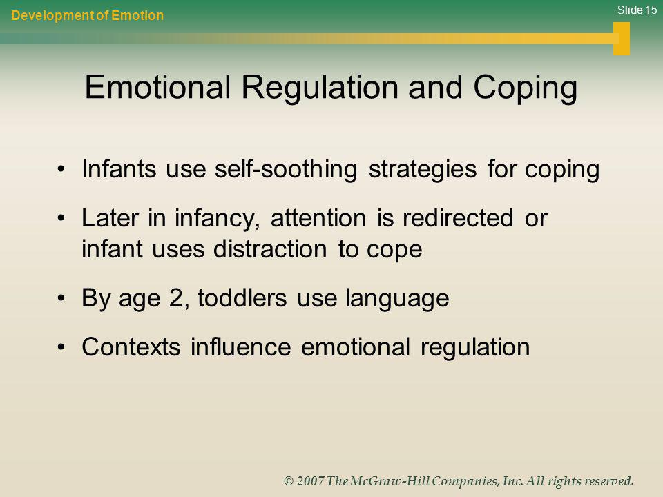 Emotional Regulation and Coping