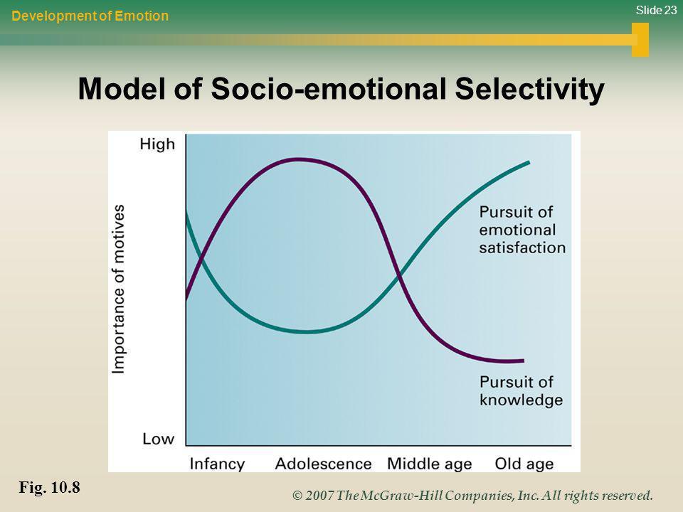 Model of Socio-emotional Selectivity