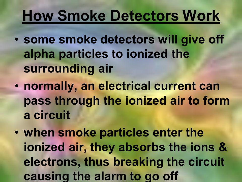 How Smoke Detectors Work