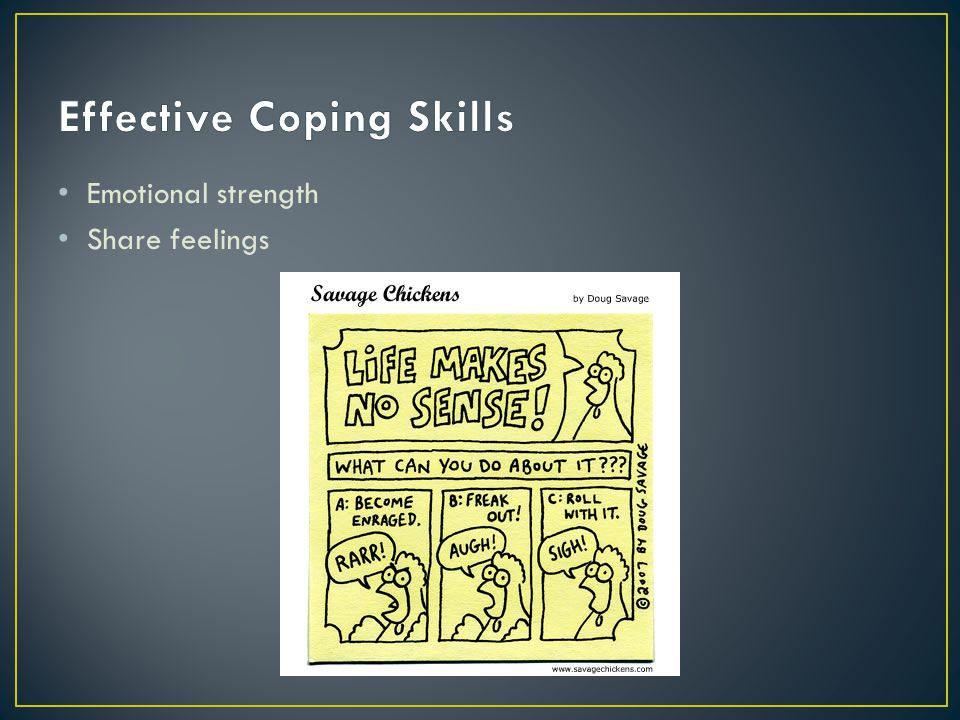 Effective Coping Skills