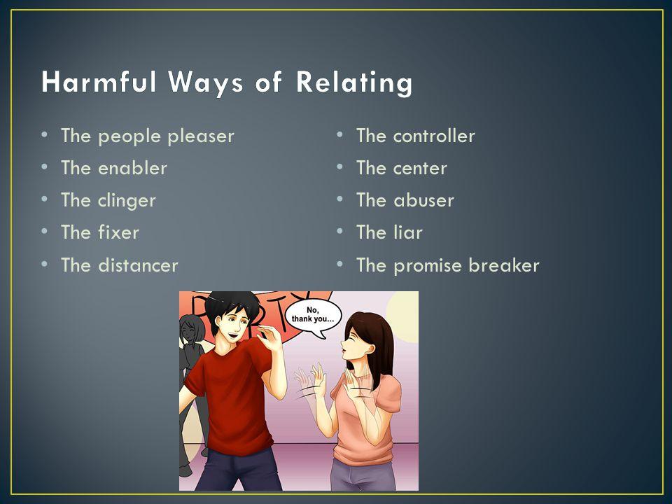 Harmful Ways of Relating