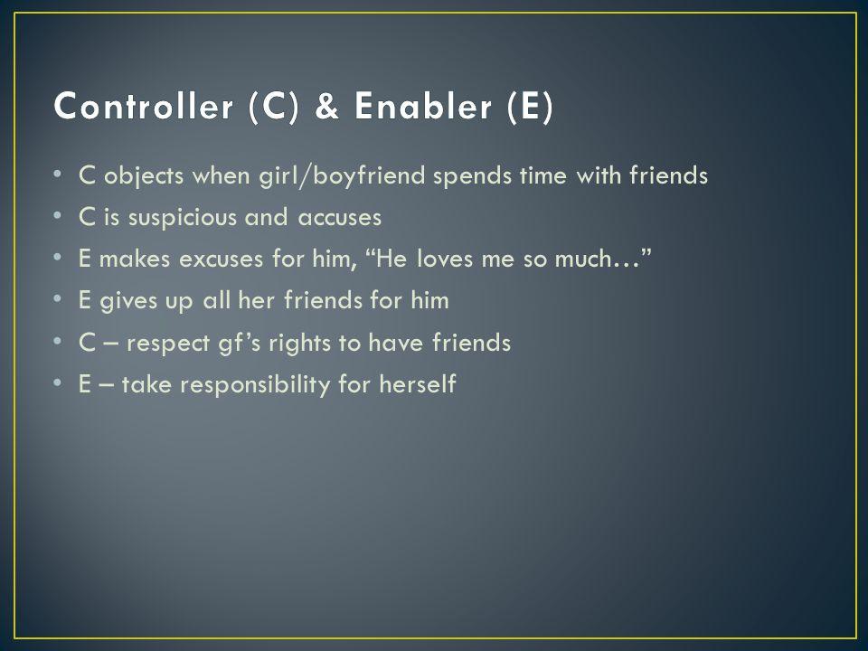 Controller (C) & Enabler (E)