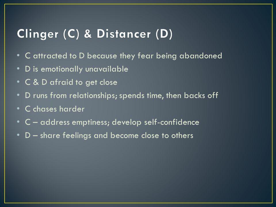Clinger (C) & Distancer (D)