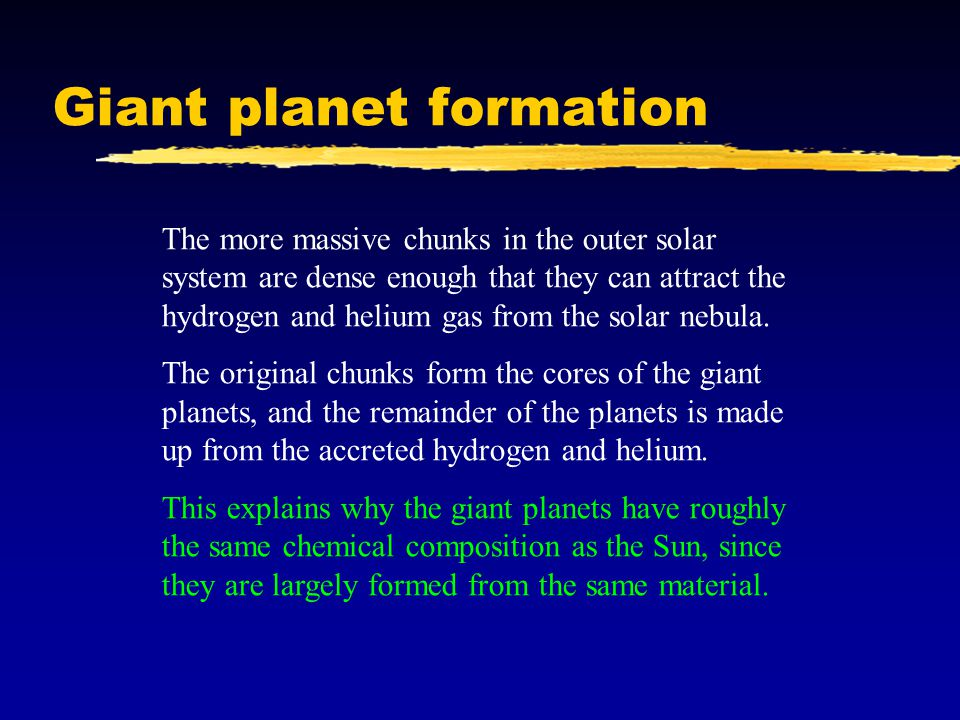 Giant planet formation