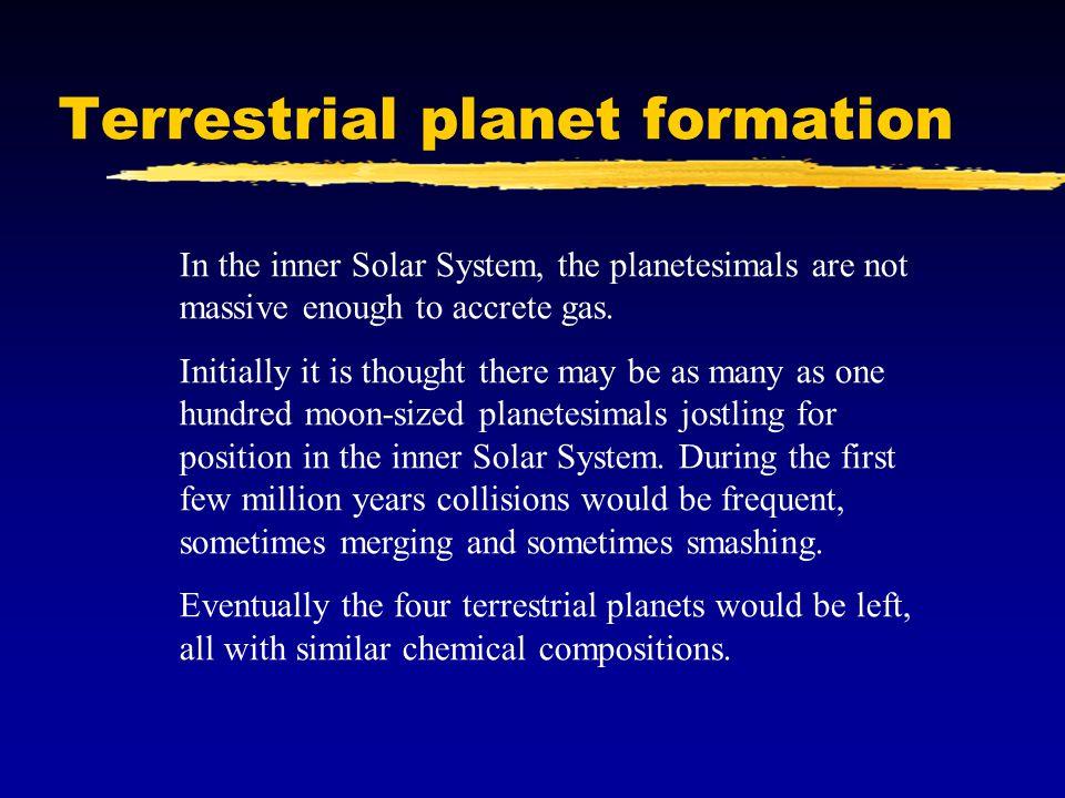Terrestrial planet formation