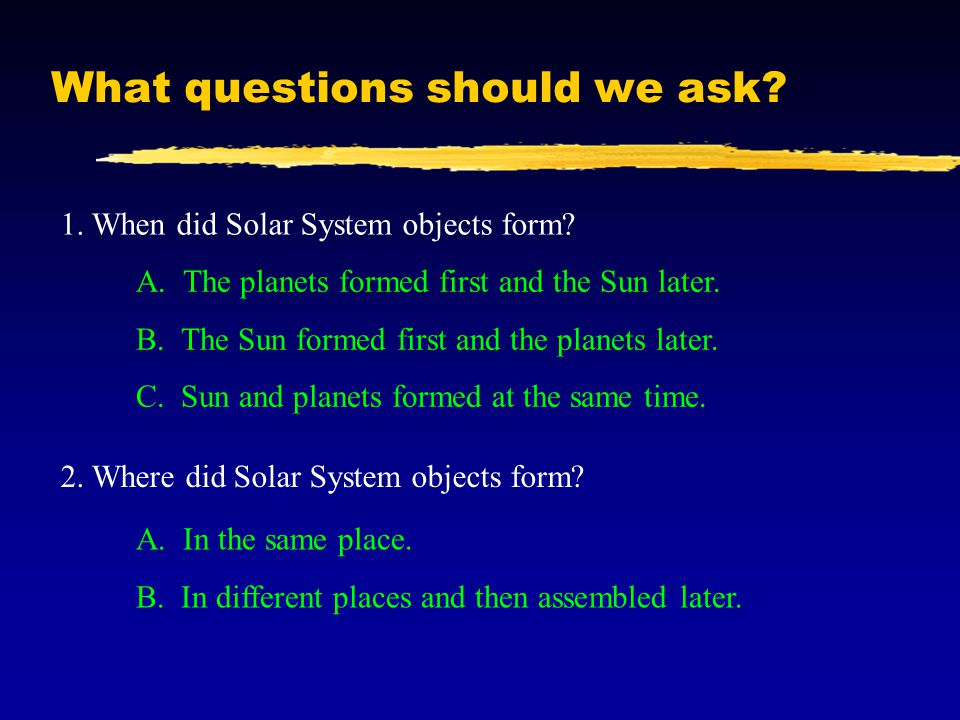 solar system hypothesis questions - photo #8