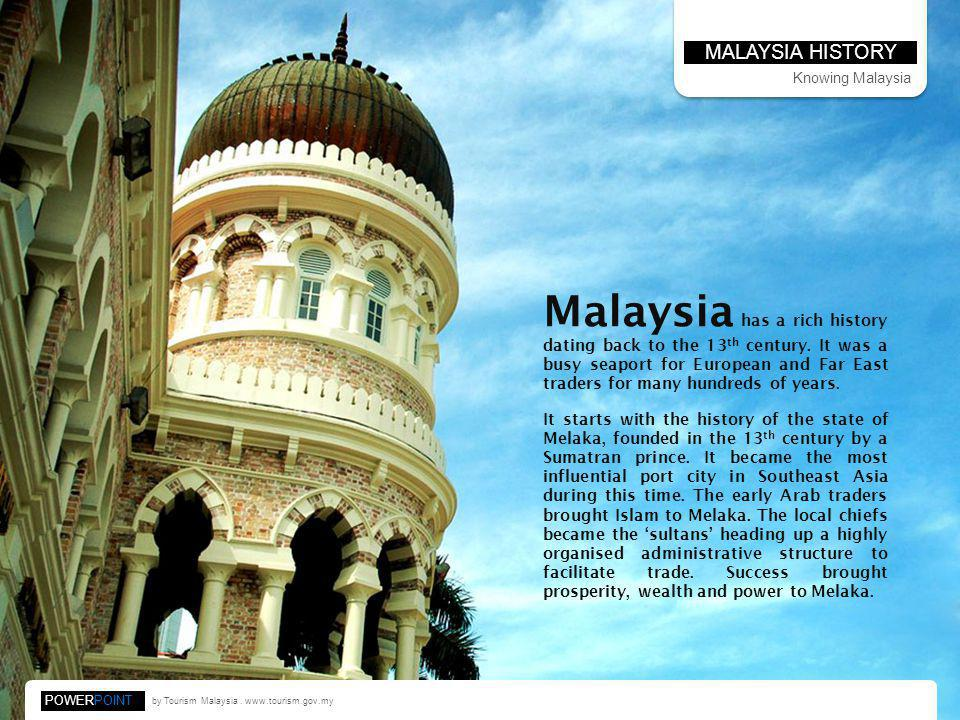 MALAYSIA HISTORY Knowing Malaysia.