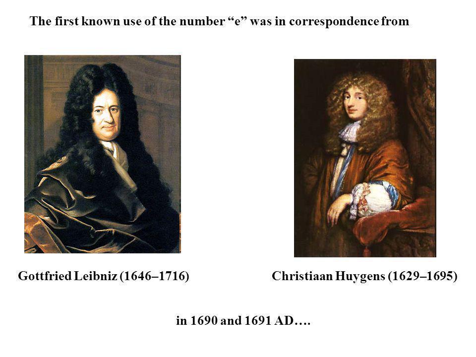 Christiaan Huygens (1629–1695)