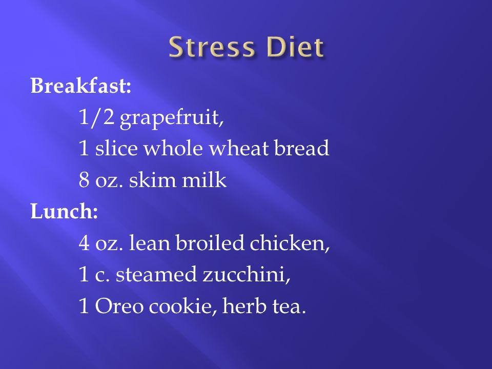 Stress Diet