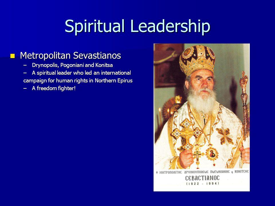 Spiritual Leadership Metropolitan Sevastianos