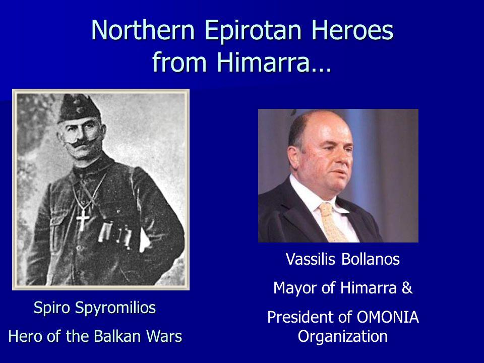Northern Epirotan Heroes from Himarra…