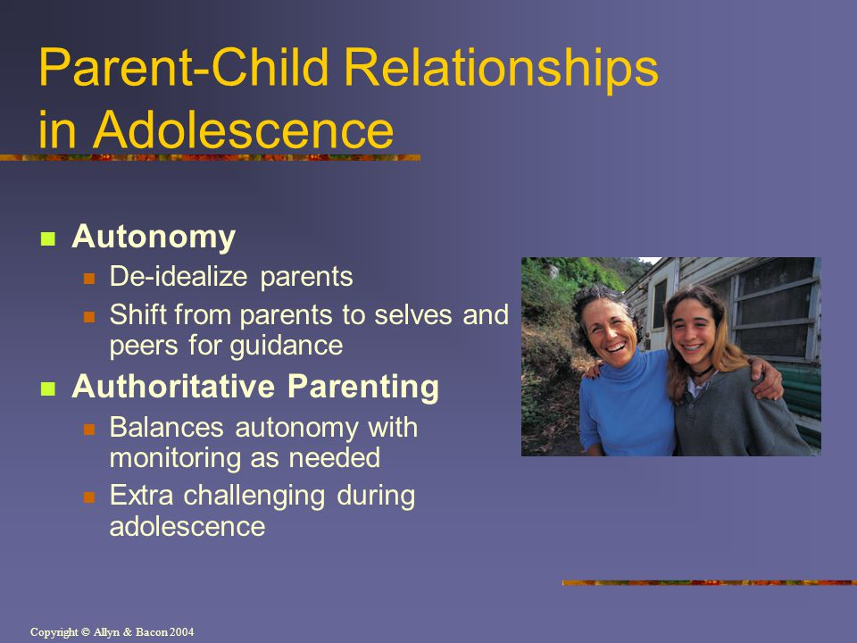 Parent-Child Relationships in Adolescence
