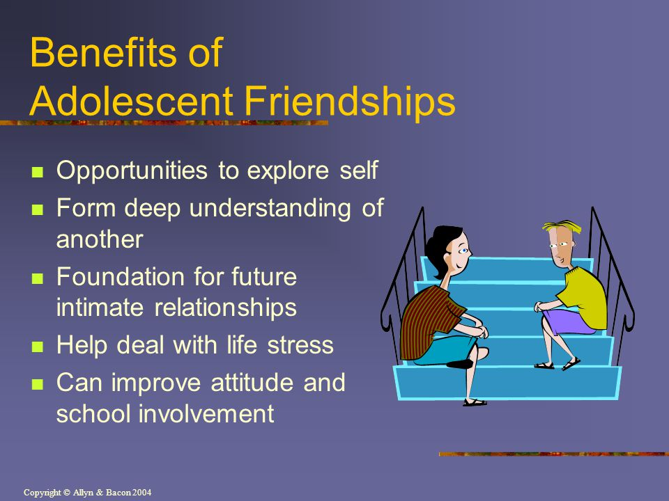 Benefits of Adolescent Friendships