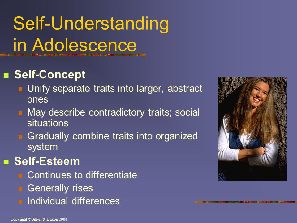 Self-Understanding in Adolescence