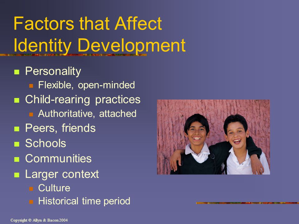 factors affecting personality development Factors affecting personality development education: education can affect personality because this is the most powerful way to develop the personality so, we mention education is the first factor that affects personality.