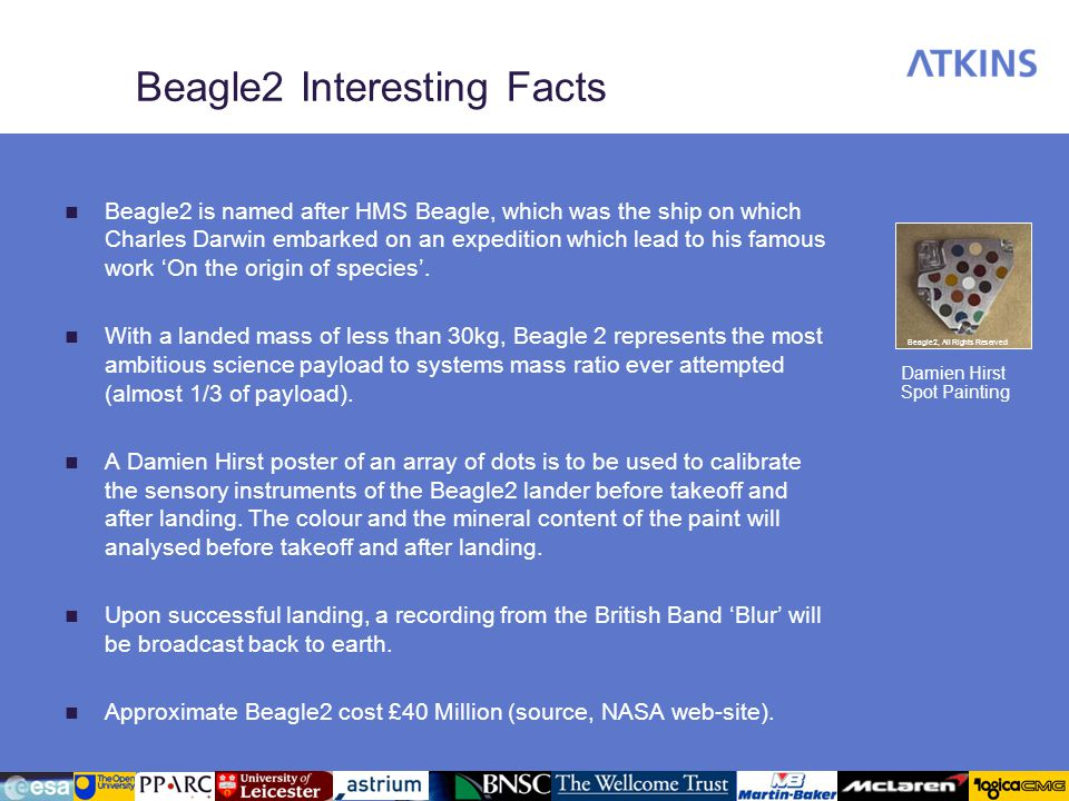 Beagle2 Interesting Facts