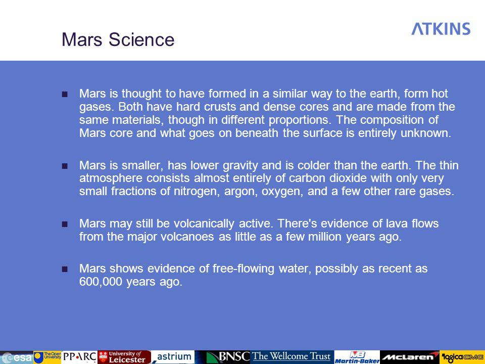 Mars Science