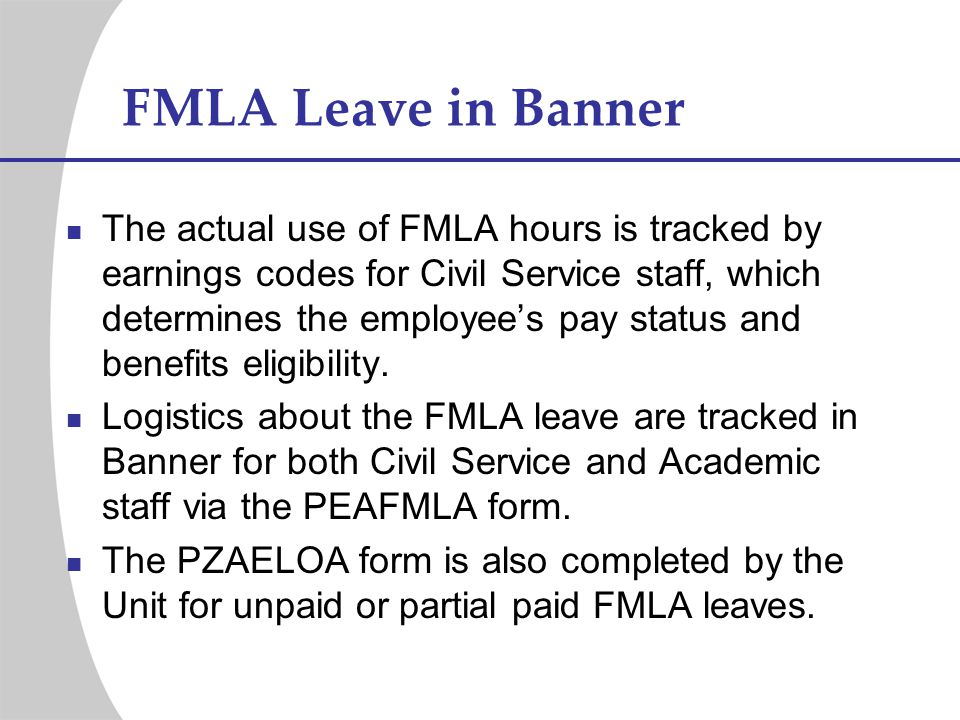 FMLA Leave in Banner