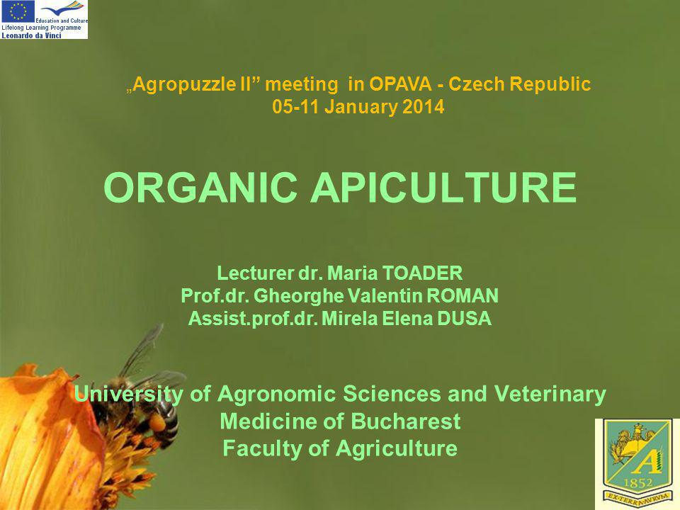 """Agropuzzle II meeting in OPAVA - Czech Republic"
