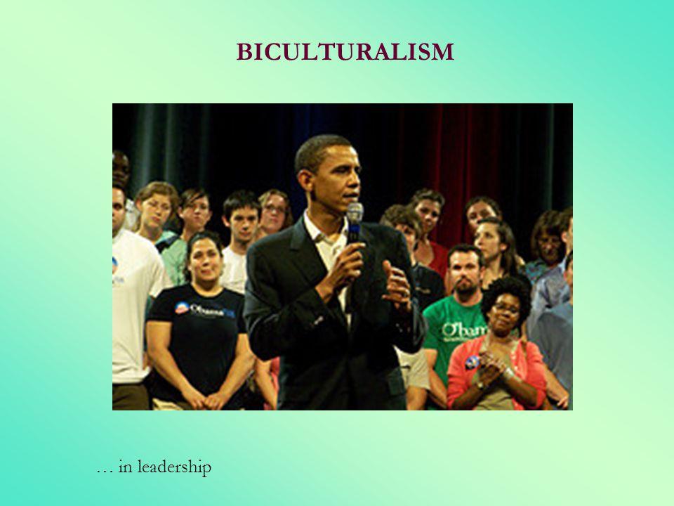 BICULTURALISM … in leadership