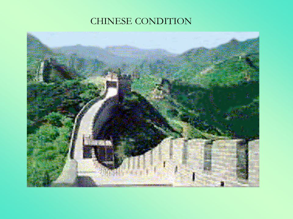 CHINESE CONDITION