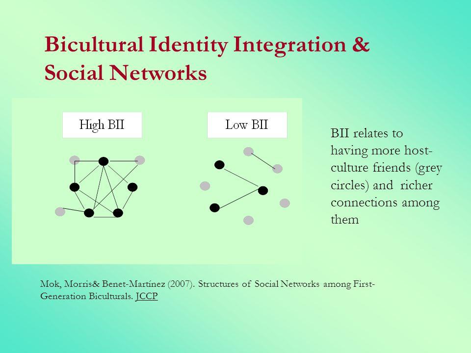 Bicultural Identity Integration & Social Networks