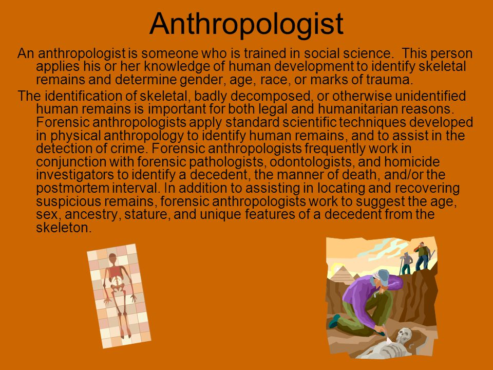 Anthropologist