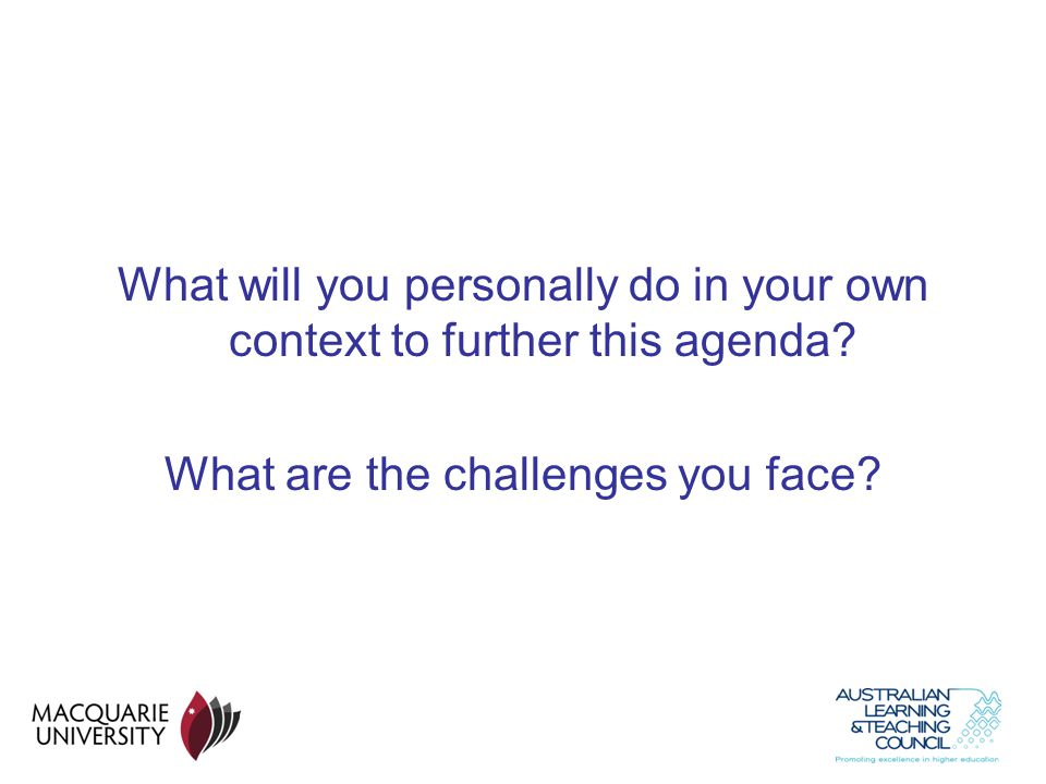What are the challenges you face