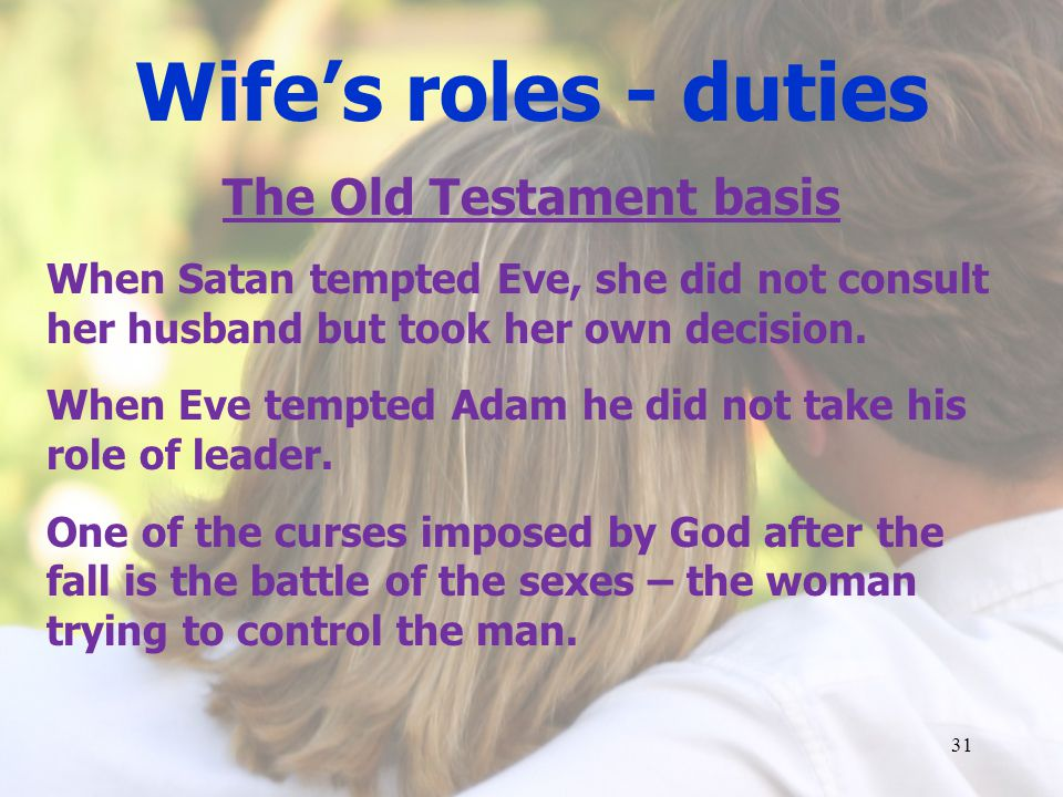 The Old Testament basis
