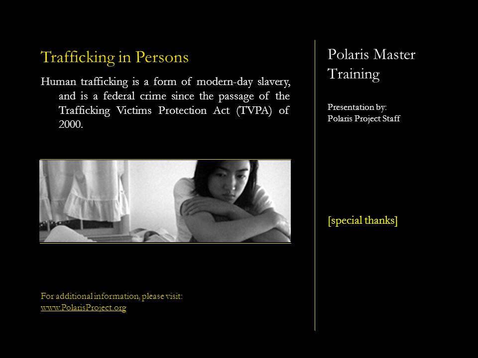 Polaris Project ~ Practical Training on Victim Identification